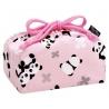 Bento Lunch Box Cloth Bag Panda Pink
