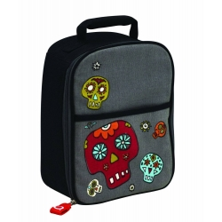 Multi-Purpose Bento Lunch Tote Insulated Bag Skull