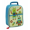 Multi-Purpose Bento Lunch Tote Insulated Bag Retro Robot