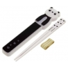 Lunch Chopsticks with Case Panda and Strap