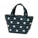 Bento Lunch Box Cloth Bag Panda Black