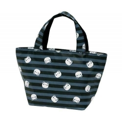 Insulated Bento Lunch Bag Panda Black