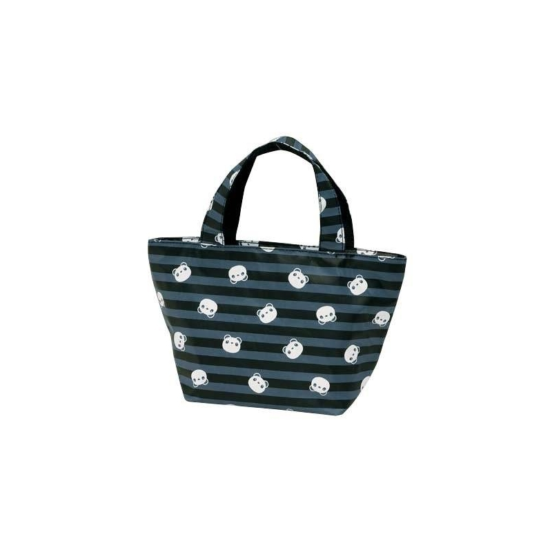 insulated bento lunch bag panda black for bento lunch bag. Black Bedroom Furniture Sets. Home Design Ideas