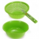 Kitchen Vegetable Washing Bowl and Strainer