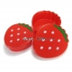 Bento Snack Box set of 2 Strawberry