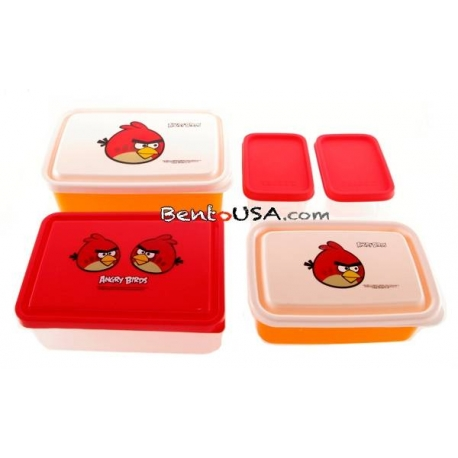 Bento Lunch Box Angry Birds 5 containers set