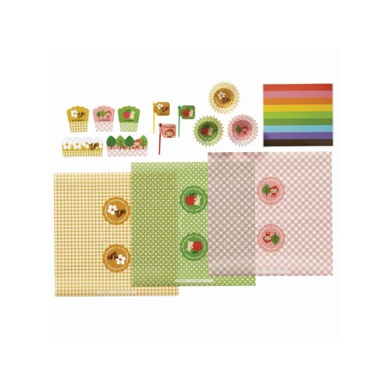 Bento lunch decoration accessories beginner kit for bento for 7p decoration