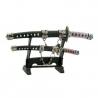 """Office Letter Opener Japanese Sword Black 8.25"""""""