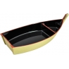 Japanese Plastic Lacquer Sushi Boat 11 inches