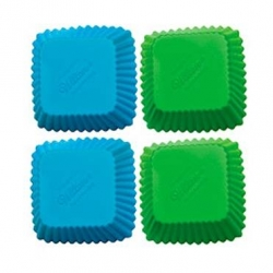 Bento Silicone Baking Food Cup 12pcs Square