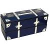 Japanese Microwave Safe 2-tier Bento Box Navy Blue