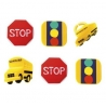 Food Decorating Party Ring School Bus Back to School