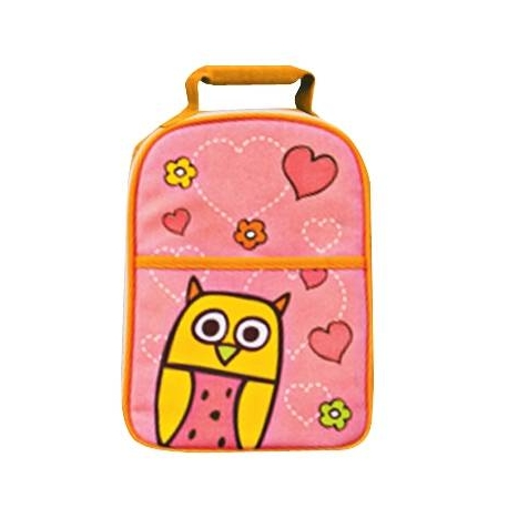 Multi-Purpose Bento Lunch Tote Insulated Bag Owl Hoot