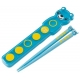 Japanese Bento Chopsticks with Case and Strap Bue Bear