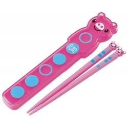Japanese Bento Chopsticks with Case Piggy