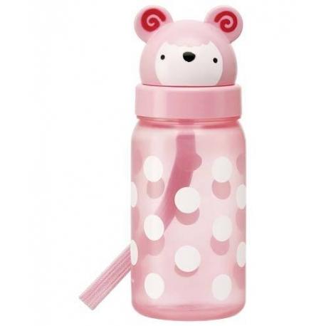Kids Water Bottle 350ml Die Cut Sheep Lid