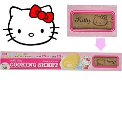 Hello Kitty Designed Cooking Sheet Roll