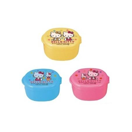 Japanese Bento Mayo Cup Sauce Container Hello Kitty set of 3