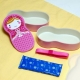 Japanese Bento Box Lunch Box Matryoshka Doll Pink