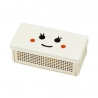 Collapsible Happy Face Sandwich lunch Box