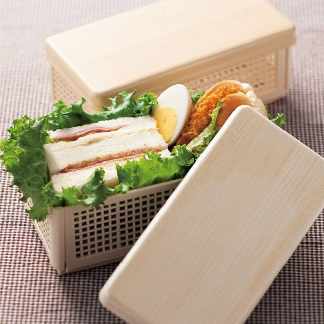 collapsible happy face sandwich lunch box for bento box all. Black Bedroom Furniture Sets. Home Design Ideas