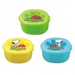 Japanese Bento Mayo Cup Sauce Container Snoopy set of 3
