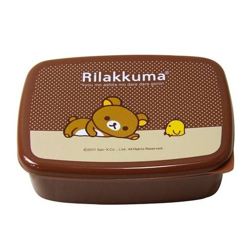 rilakkuma japanese bento lunch box with removable sections for ben. Black Bedroom Furniture Sets. Home Design Ideas