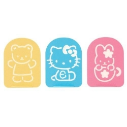 Hello Kitty Bento Food Separator Sheet Seasoning Stencil