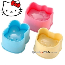 Japanese Bento Decoration Hello Kitty Shaped Rice Mold 3 Designs