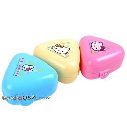 Bento Triangle Rice Ball Onigiri Case Hello Kitty