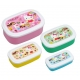 Microwavable Nested Container 4pcs Hello Kitty Oval