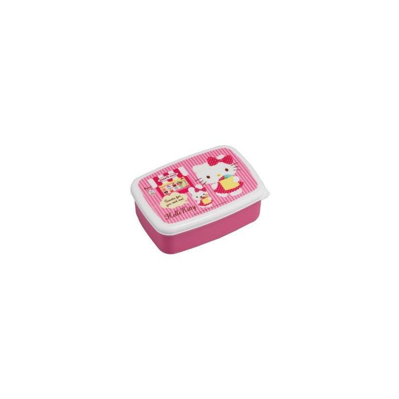 microwavable bento lunch box hello kitty with 2 removable. Black Bedroom Furniture Sets. Home Design Ideas