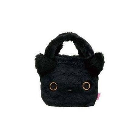 San-X Kutushitanyanko Plush Furry Tote Bag