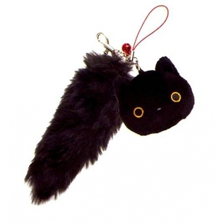 San-X Kutushitanyanko Plush Bag or Phone Strap