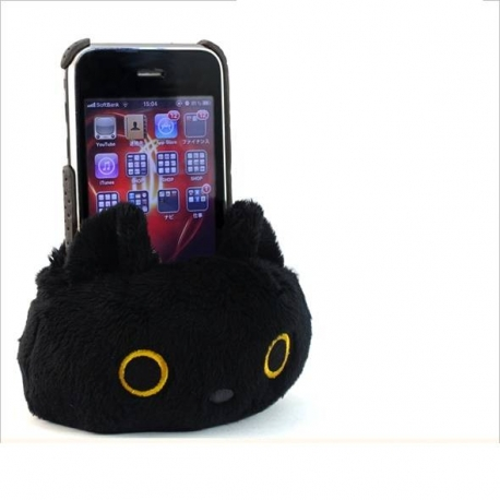 San-X Kutushitanyanko Plush Cell Phone Holder