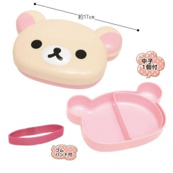 Korilakkuma Die Cut Bento Lunch Box with Removable Divider