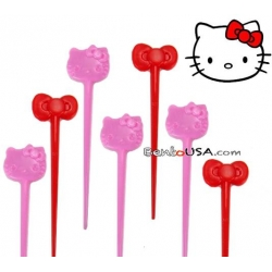 Bento Box Accessory Food Pick Hello Kitty 10 pcs