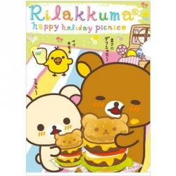 Rilakkuma Document Folder Bear Burger