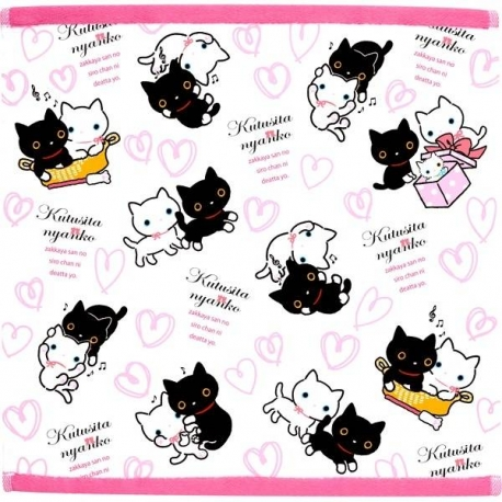 Kutusita Nyanko socks Cloth Lunch Napkin