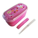 Japanese 2-Tier Hello Kitty Bento Lunch Box