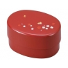 Microwavable Japanese Bento Box Lunch Red Butterfly