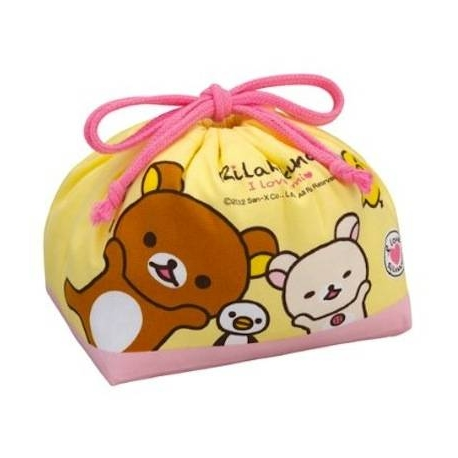 bento lunch box cloth bag rilakkuma for bento lunch bag. Black Bedroom Furniture Sets. Home Design Ideas