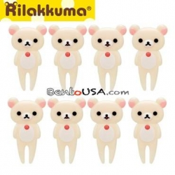 San-X KoRilakkuma Bento Fun Lunch Accessories Food Pick 8 pcs