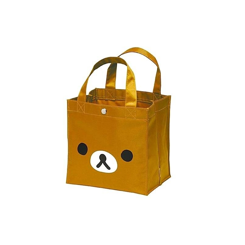 bento lunch box tote bag rilakkuma face for bento lunch bag. Black Bedroom Furniture Sets. Home Design Ideas