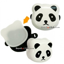 2 Tier Onigiri case Mini Bento Snack Box Panda
