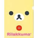 Rilakkuma Document Folder Rilakkuma Face