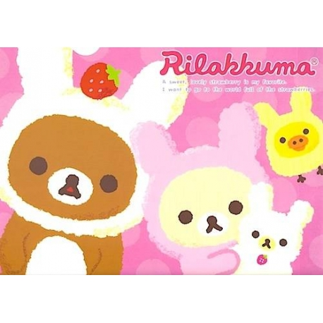 Rilakkuma Document Folder Bunny
