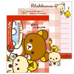 Rilakkuma Mini kawaii Bento Lunch Notes Series 3