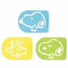 Snoopy Bento Food Separator Sheet Seasoning Stencil
