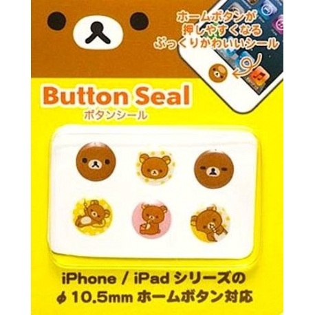 Rilakkuma Smart IPhone Button Covers